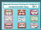 Spanish Musical Echoing Slide Shows for Delightful Compreh