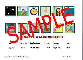 Spanish Musical Echoing for Children  Whole Program Interactive