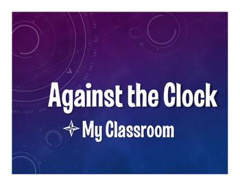 Spanish My Classroom Against the Clock