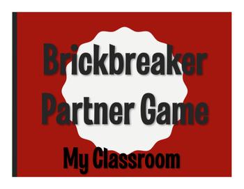 Spanish My Classroom Brickbreaker Game