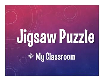 Spanish My Classroom Jigsaw Puzzle