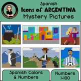 Spanish Mystery Pictures, Icons of ARGENTINA, Spanish Colo