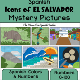 Spanish Mystery Pictures, Icons of EL SALVADOR Spanish Col