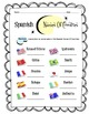 Spanish Names of Countries Worksheet Packet