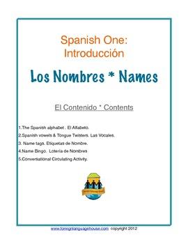 Spanish Names & the Alphabet for Beginners