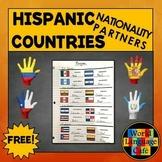Spanish Nationalities Partners for Hispanic Countries, Hispanic Culture