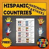 Spanish Nationalities Partners for Hispanic Countries, His