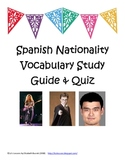 Spanish Nationality Study Guide and Quiz (Prueba de Nacionalidades)