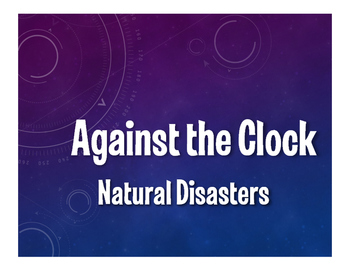 Spanish Natural Disasters Against the Clock