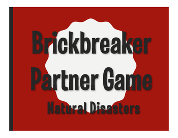 Spanish Natural Disasters Brickbreaker Game