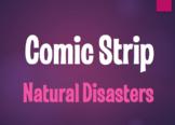 Spanish Natural Disasters Comic Strip