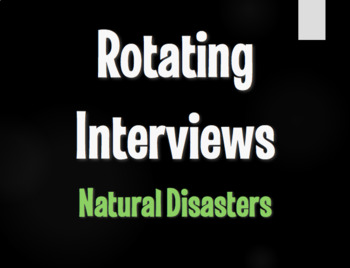 Spanish Natural Disasters Rotating Interviews