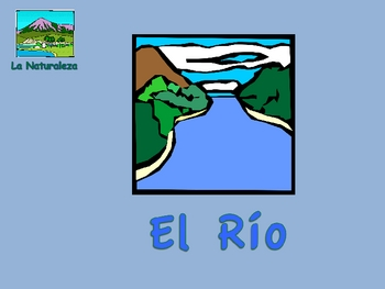 Spanish Nature Vocabulary and Activities Powerpoint