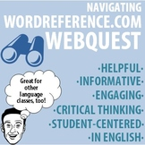 World Language - Navigating WordReference.com Webquest