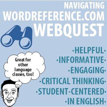 World Language - Navigating WordReference.com Webquest