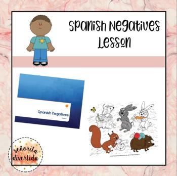 Spanish Negatives Lesson