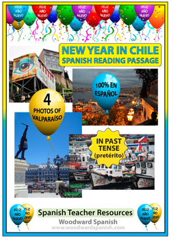 Spanish New Year Reading with Photos - Año Nuevo en Chile