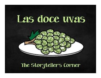 Spanish New Year's Eve Story - Las doce uvas