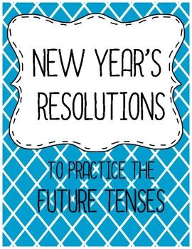 Spanish New Year's Resolutions Activities