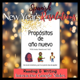 Spanish New Year's Resolutions Propósitos de año nuevo Rea