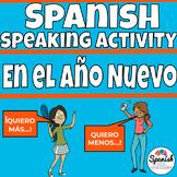 Spanish New Year's Speaking Activities