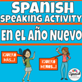 Spanish New Year's Speaking Activities