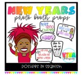 Spanish New years photo booth props 2019