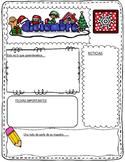 Spanish Monthly Newsletters in Color:  Editable Spanish Classroom Newsletters