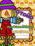 Spanish No prep Math and Literacy/ Otoño matemáticas y lenguaje