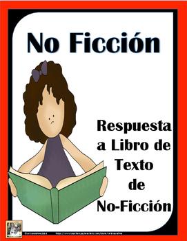 Response to Nonfiction books Spanish -Respuesta a libro de texto de no ficción