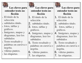 Spanish Non-fiction bookmarks