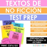 Spanish Nonfiction Texts with Task Cards - Test Prep