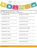Spanish Nosotros Command Worksheet - JB