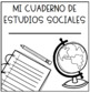 EDITABLE English & Spanish Notebook Covers! Reading, Writing, Science, S Studies