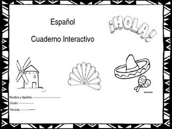 Spanish Notebook Set Up