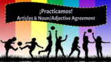 Spanish Noun/Adjective Agreement & Articles Review