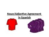 Spanish Noun/Adjective Agreement (La Ropa)