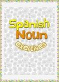 Spanish Noun exercises