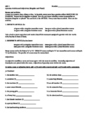 Spanish Nouns/Adjective/Articles Notes