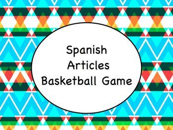 Spanish Nouns, Articles, & Adjectives Super Bundle - Slideshow, Game, Worksheets