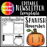 Spanish November Newsletter