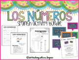 Spanish Number Activities - Los Números