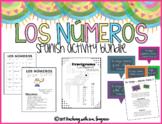 Spanish Number Activities - Los Números