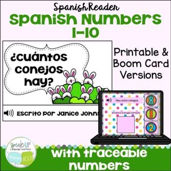 Spanish Number/Counting Bunny Readers {¿Cuántos conejos hay?}