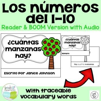 Spanish Number/Counting Readers {¿Cuántas manzanas hay?}