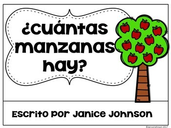 Spanish Number/Counting Readers {¿Cuántas manzanas hay?}