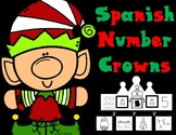 Spanish Number Crowns:  Christmas