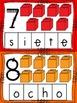 Spanish Number Mats 1-10