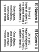 Spanish Number Poems (11-100)