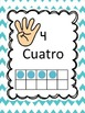 Spanish Number Posters 0-10